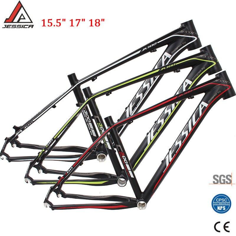 "Mountain Bike Frame 16//17in Aluminum alloy 7005 BB68 Cycling MTB Frameset 26/"""