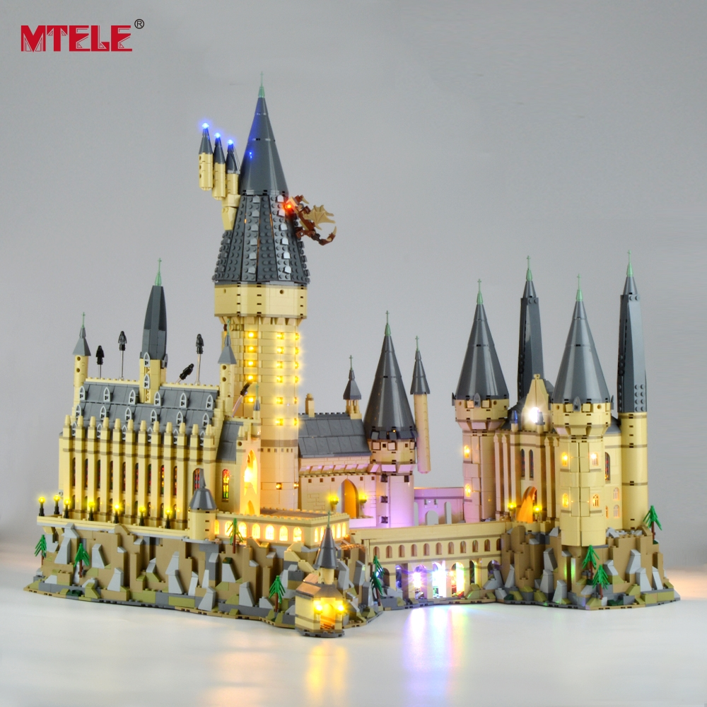 MTELE Led Light Up Kit For Hogwart's Castle Light Set Compatible With 71043 (NOT Include The Model)