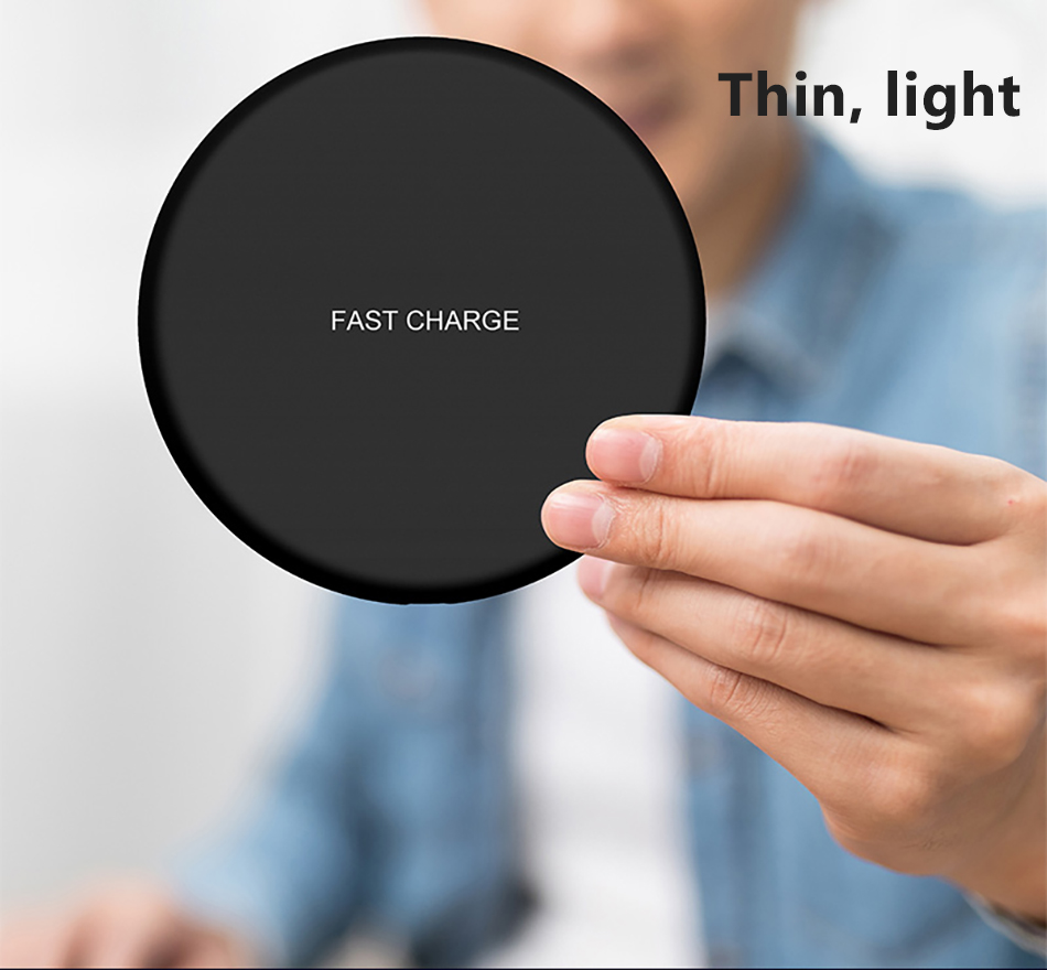 !ACCEZZ Qi Wireless Charging 7.5W 10W For Samsung Galaxy S8 S9 Plus Note 8 Universal Fast Charge For iPhone 8 Plus XS XR Charger (9)