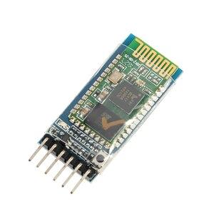 Image 2 - 50 قطعة/الوحدة HC05 HC 05 ماستر الرقيق 6pin JY MCU مكافحة عكس المتكاملة بلوتوث المسلسل تمرير من خلال وحدة لاسلكية المسلسل