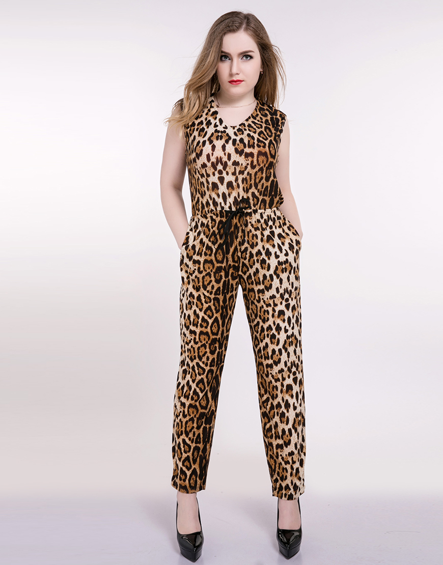 Popular Leopard Jumpsu...