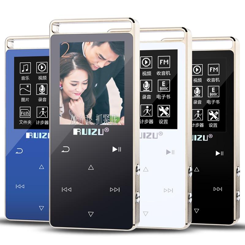 Sport HIFI MP3 Player 8G Screen Touch Key MP3 Music Player Speaker Video Pedo Meter Recorder