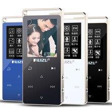 HIFI deporte Reproductor de MP3 8G Pantalla Táctil Clave MP3 Altavoz Reproductor de Música de Vídeo Pedo Meter E-Book Grabadora de Vídeo