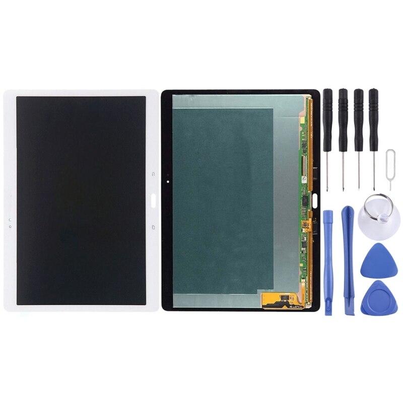 Écran LCD de haute qualité et numériseur verre de remplacement Lcd pour Galaxy Tab S 10.5/T805 avec outils