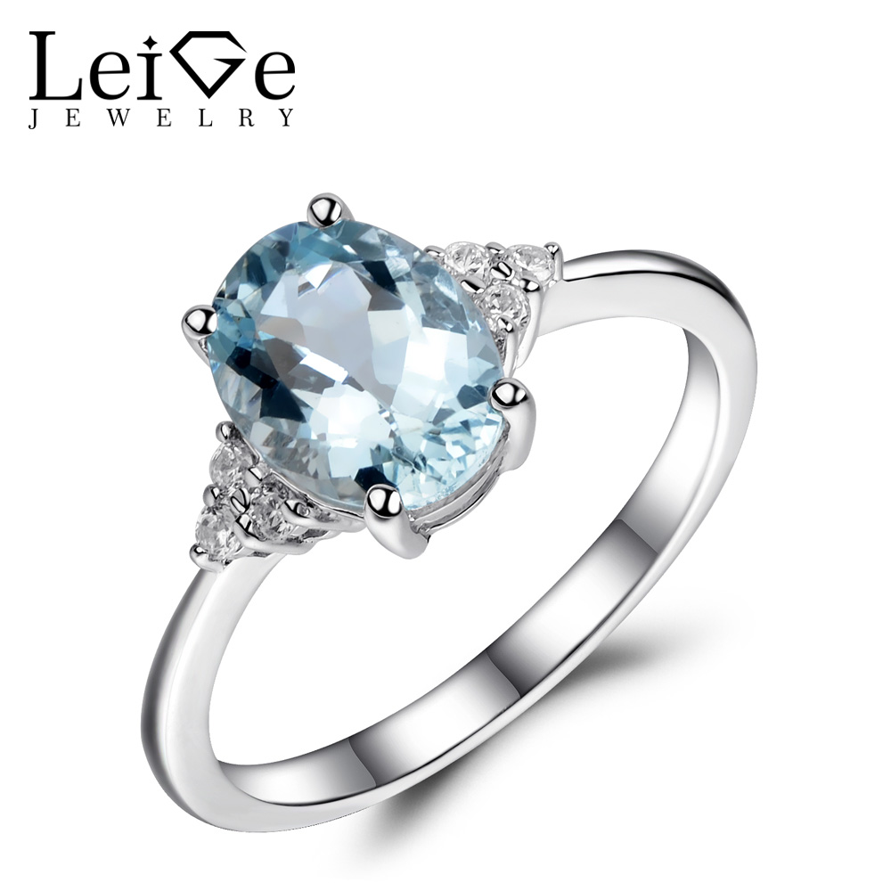 rings parisienne engagement aquamarine products vine flower la ring gold rose natural product