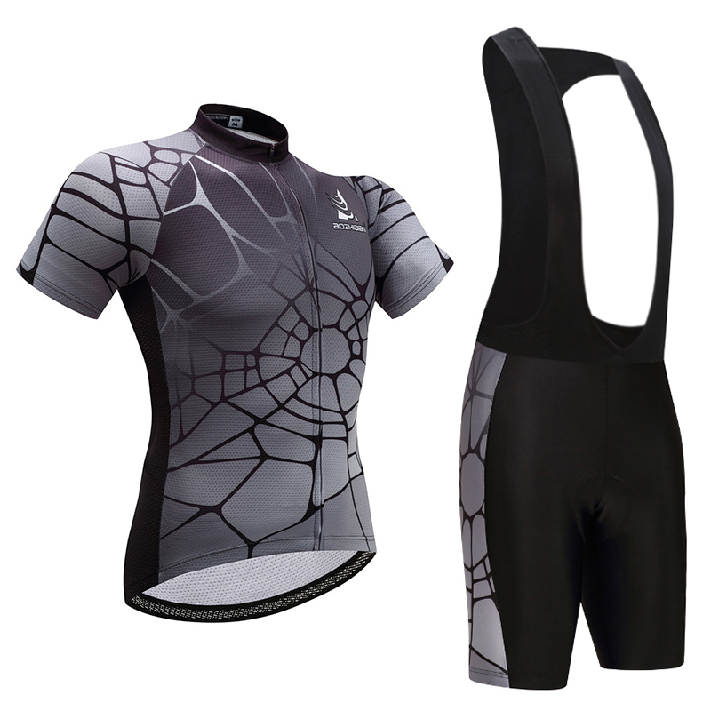 MILOTO Men Cycling Jersey 2017 pro team Cycling Clothing+Bib Shorts Cycling Set