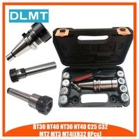 BT30 BT40 NT30 NT40 MT4 MT3 MT2 C25 C32 ER32 8PC Milling Lathe Collet Chuck Set 3 to 3 20mm