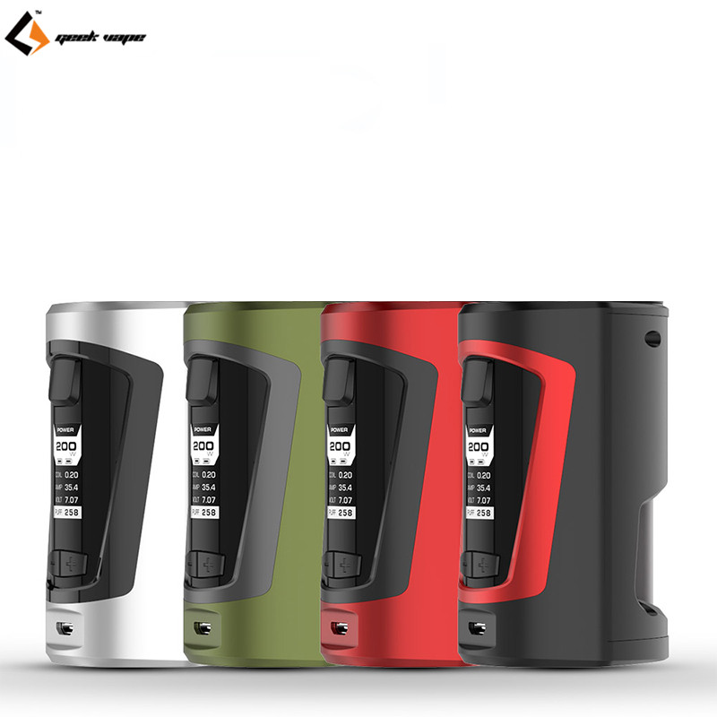100% Original Geekvape GBOX Mod 200W GBOX Squonker Box Mod Vape fit 8ml Squonk Bottle Support Radar RDA Tank geekvape gbox squonker 200w tc mod w as chipset