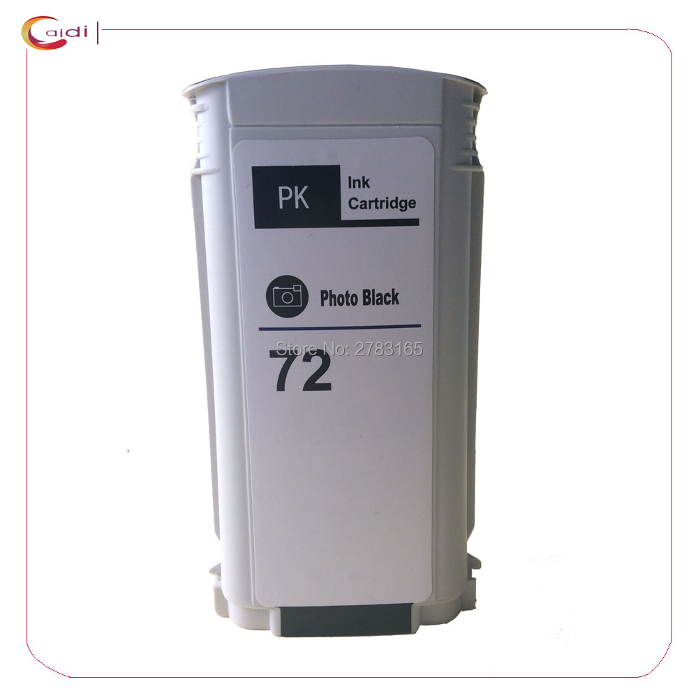 Photo Black Compatible ink cartridge for HP72 hp 72 for HP Designjet T610 T1120 T1200/ps T1300 T2300 printher ink cartridge