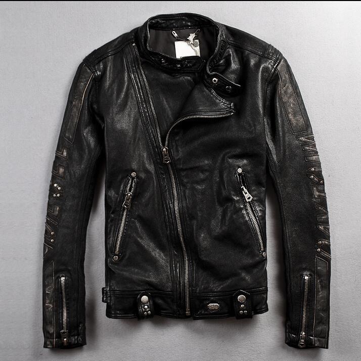 Compare Prices on Retro Leather Jackets- Online Shopping/Buy Low ...