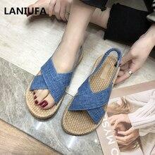 plus size 35-40 flats sandals women sandals slippers women f