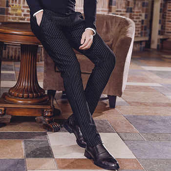 Fanzhuan free shipping New pants fashion male man 2018 men's trousers business casual pants striped trousers all-match 818004 - DISCOUNT ITEM  14% OFF All Category
