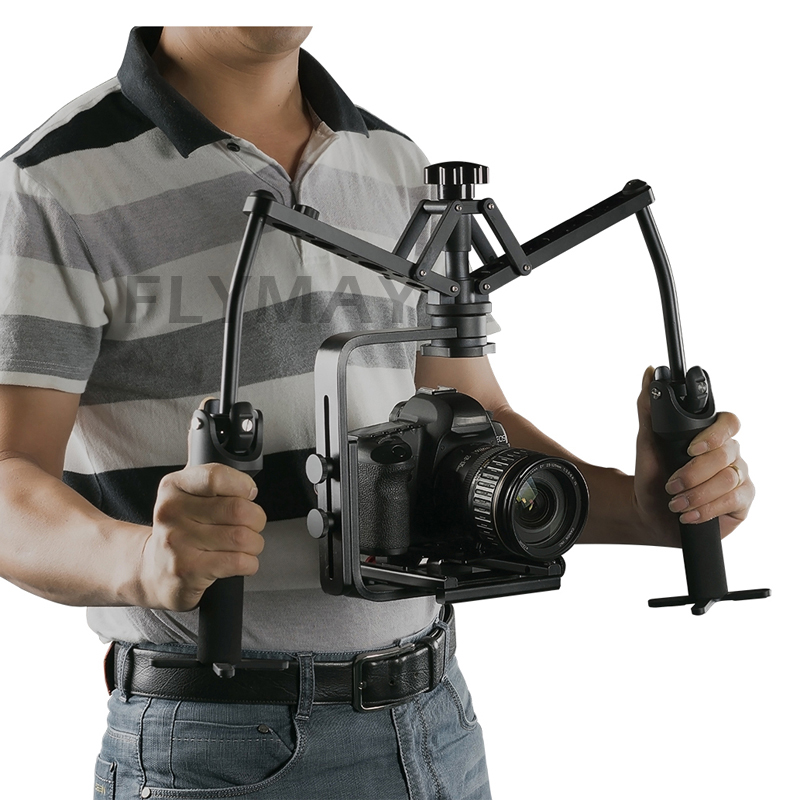 Free DHL Hand Grips Handheld Stabilizer Rig Video Gimbal