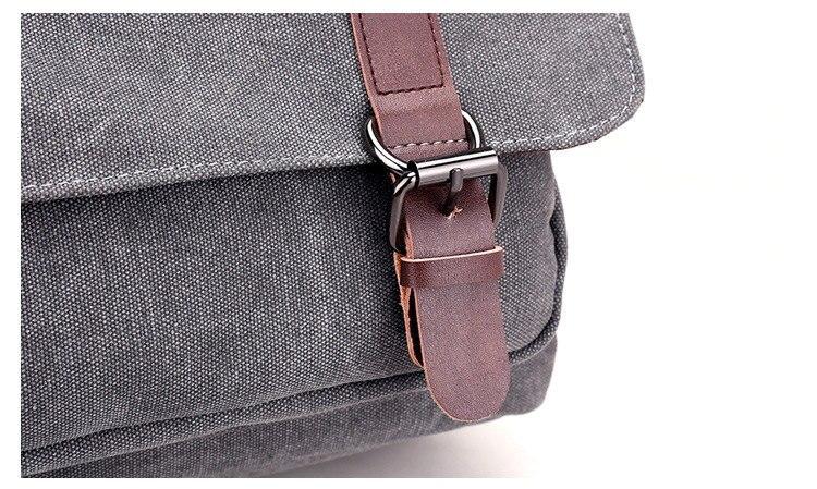 Micom Canvas Men Messenger Bags Vintage Shoulder Belt Bag Large Capacity Business Travel Bag Men\`s Canvas Crossbody Handbag New (28)