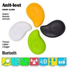 4 cores Mini Localizador Inteligente Smart Wireless Bluetooth 4.0 dispositivo de Rastreamento GPS Localizador Tracer Alarme Tag Carteira Chave Shap de manga Criança