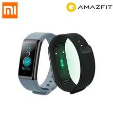 Лучшие [Английская версия] xiaomi Huami Amazfit КОР СМАРТ-браслет 5ATM Водонепроницаемый умный Браслет Нержавеющаясталь 2.5D ips Сенсорный экран