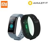 International Version Xiaomi Huami Amazfit Cor MiDong 5ATM Waterproof Smart Bracelet Stainless Steel 2 5D Color