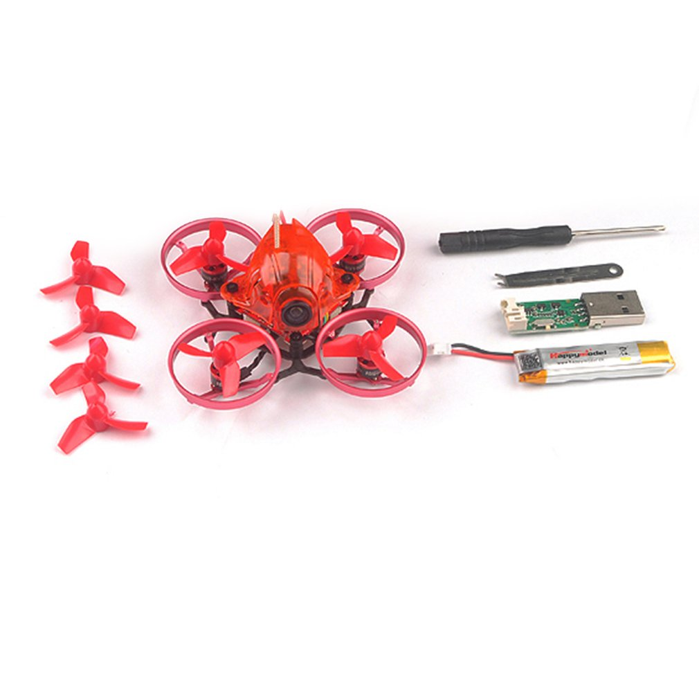 купить HOT Happymodel Snapper6 65mm Micro 1S Brushless FPV Racing RC Drone Quadcopter with F3 OSD BLHeli_S 5A ESC BNF Version онлайн