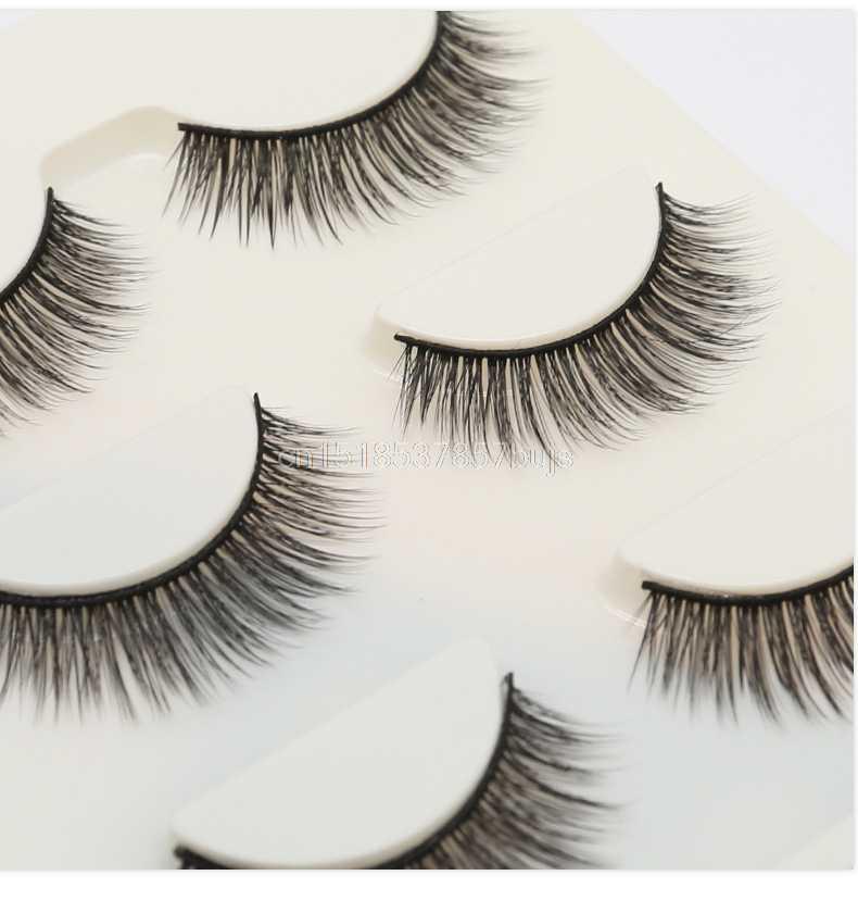 95cfd065276 ... MB 2018 New 100% 3 pairs mink eyelashes natural eye lashes 3D mink  lashes makeup ...