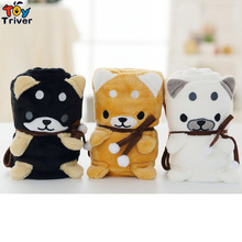 Shiba Inu Dog Blanket Portable Baby Kids Shower Gift Office Car Nap Pet Puppy Plush Toy Bedroom Carpet Decor Drop Shipping