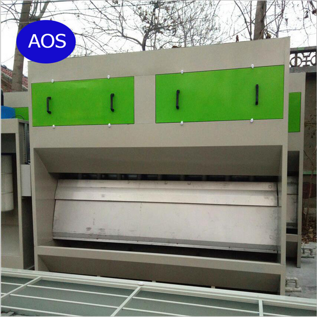 3 Meters Width No Pump Water Curtain Spray Booth