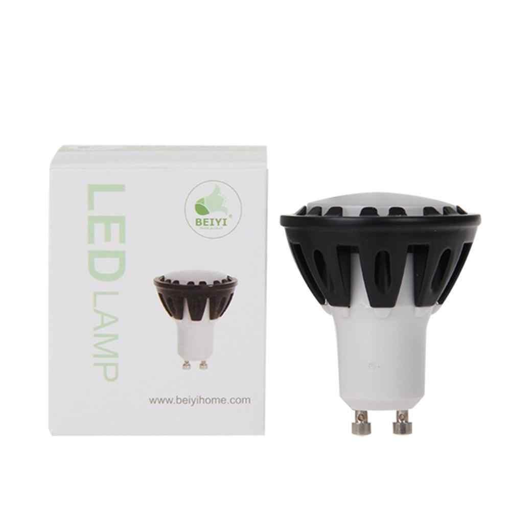 Супер яркий AC100-265V GU10 6 Вт высокомощная низкая Кондитерская светодиодные лампы SMD точечная лампочка теплый/дневной белый