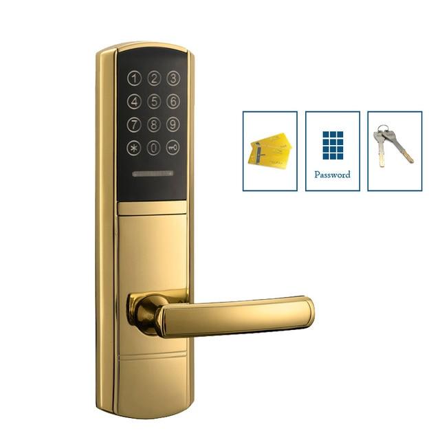 Electronic Keypad Front Door Lock Digital Combination Lock With