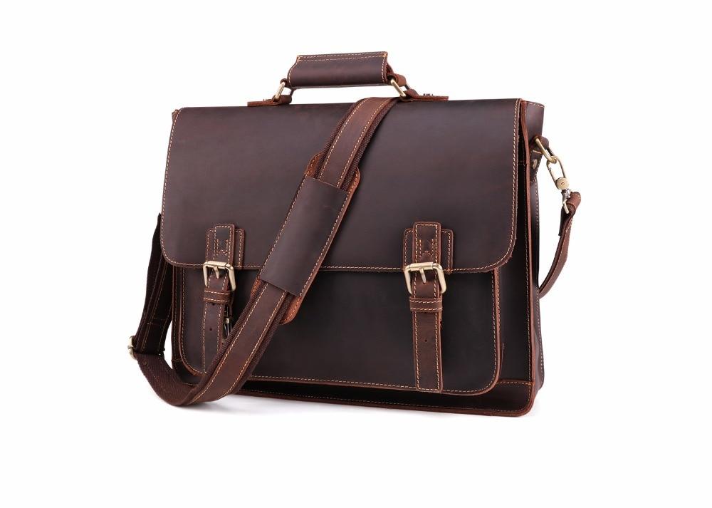 HTB1XHCiczfguuRjy1zeq6z0KFXa8 JOYIR 2019 Vintage Men's Genuine Leather Briefcase Crazy Horse Genuine Leather Messenger Male Laptop Bag Men Business Travel Bag