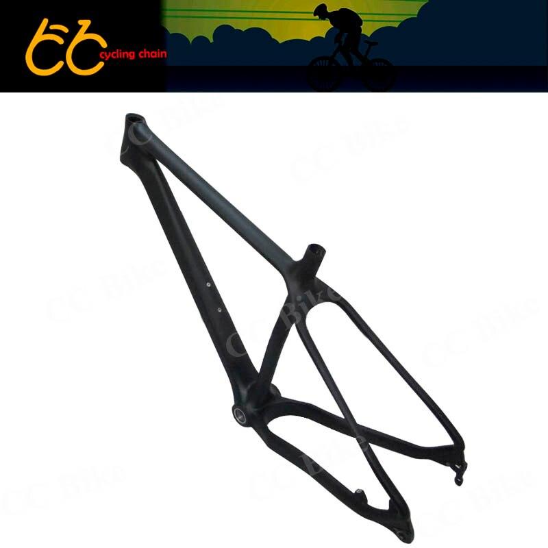 Full carbon fat bike frame 26er Toray T700 high mould carbon snowbike frame 120mm BB Fat Bike Frame CC-CMF-008
