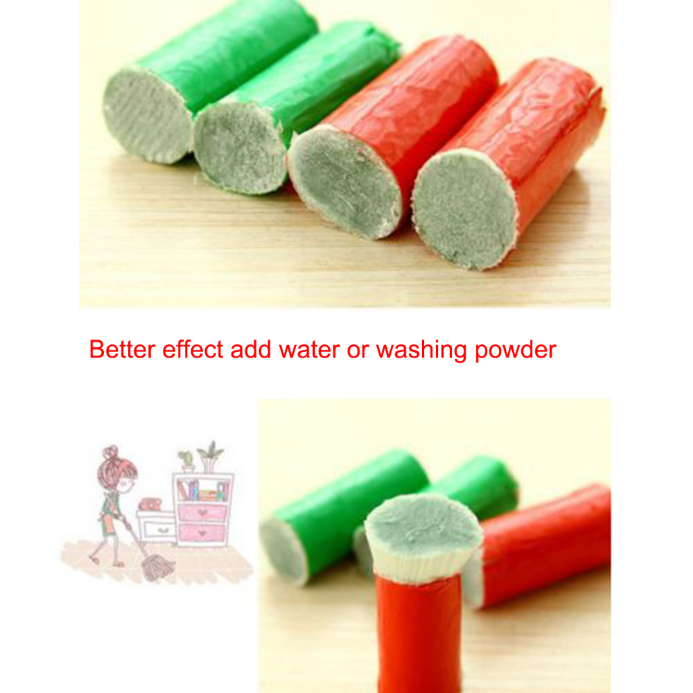 2pcs Magic Stick Stainless Steel Decontamination Cleaning Brush Metal Rust Remover Cleaning Sticks Wash Brushes