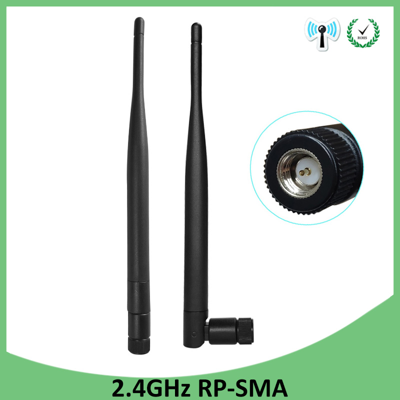 20pcs 2.4GHz 3dBi Omni Wireless Antenna WIFI WLAN SMA plug Tilt /& swivel for PCI