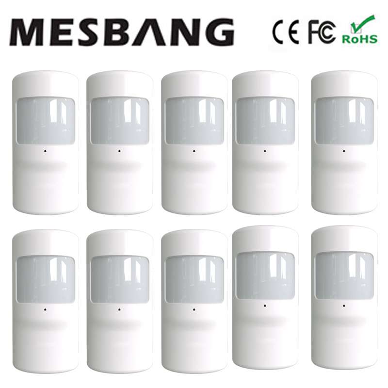Mesbang Pir sensor infrared detector 433MHZ for G90B free shipping free shipping dc12v 433mhz metal