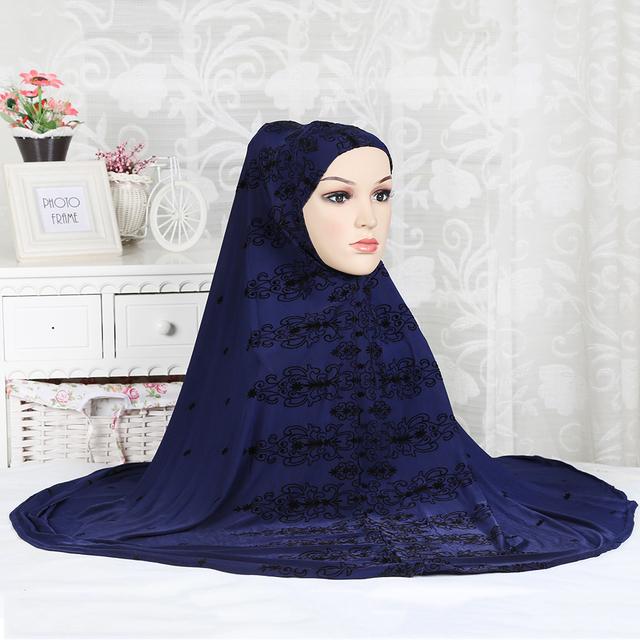 Das 2016 Mulheres Novas coberturas de cabeça Muçulmano Moda Hijabs muçulmanos hijab turca lenços turbante muçulmano véu 13 cores MSL803-1