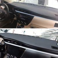 Car Dashboard Carpet Mat Non Slip Sun Shade Cover Pad For TOYOTA COROLLA Anti Reflective Decoration