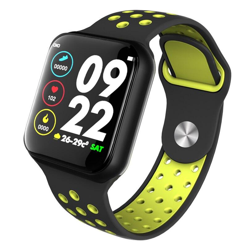 El más nuevo reloj inteligente F8 Bluetooth Monitor de ritmo cardíaco pulsera de banda inteligente pasos de pantalla distancia calorías relojes de pulsera deportivos Relojes de pulsera para mujer, marca de lujo, reloj de pulsera de acero plateado para mujer, reloj de pulsera de diamantes de imitación para mujer, reloj femenino, reloj femenino