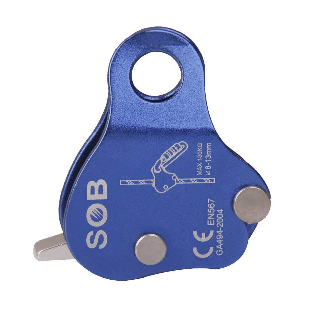 New Style Aluminum Climbing Rope Blocker For Outdoor Climbing Grab Climbing Rope Safety Rope Self-locking Device