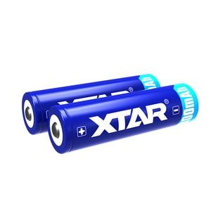 Image 5 - 1 pcs 원래 xtar 충전식 14500 800 mah 3.7 v 보호 된 배터리 손전등에 대 한 설계 휴대용 전원 공급 장치 등