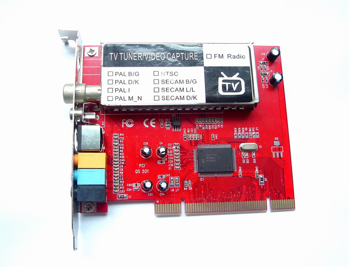 Ioflex pci to tv and fm radio tuner, with video capture and remote.