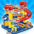 Nova Chegada Casa de Simulação Estacionamento Super Brinquedo Conjunto Cena Do Carro do Brinquedo das Crianças Brinquedo Do Carro de Elevação-modelo-carros