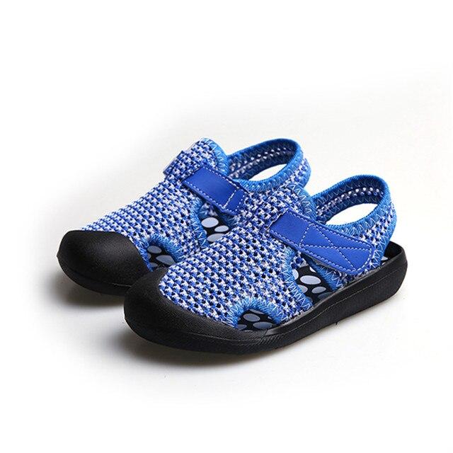 Anak-anak musim panas sepatu sandal nmd balita Bernapas Mesh Sneakers Anak  Laki-laki 09894b7b1d