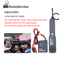 Auto Circuit Diagnostic Tools DC 6 42V Cable Wire Tracker Short & Open Circuit Finder Vehicle Repair Tester Detector Tracer