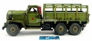 Image 3 - Antique classical military truck model retro vintage wrought  metal tinplate car handmade Creative home furnishings