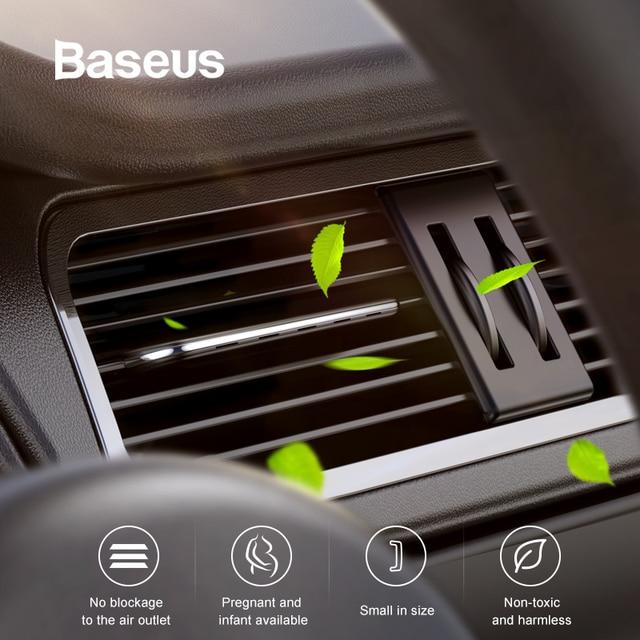 Baseus Car Air Freshener Perfume Fragrance for Auto Car Air Vent Freshener Air Conditioner Clip Diffuser Solid Perfume 1