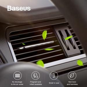 Image 2 - Parfum de parfum de désodorisant de voiture de Baseus pour le parfum solide de diffuseur dagrafe de climatiseur dévent de voiture automatique