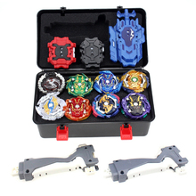 Beyblade Burst Set Toys Beyblades Arena Bayblade Set Metal Fusion Fighting Gyro 4D with 3 Launcher Spinning Top Blades Toys  - buy with discount