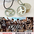 Wholesale KPOP Fan SS501 2PM Dream High Kim Hyun Joong Bae Yong Joon Rotated Men or Women Necklace X1606