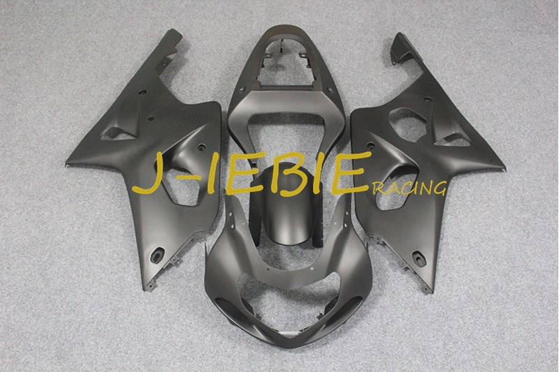 Matt black Injection Fairing Body Work Frame Kit for SUZUKI GSXR 1000 GSXR1000 K1 2000 2001 2002Matt black Injection Fairing Body Work Frame Kit for SUZUKI GSXR 1000 GSXR1000 K1 2000 2001 2002