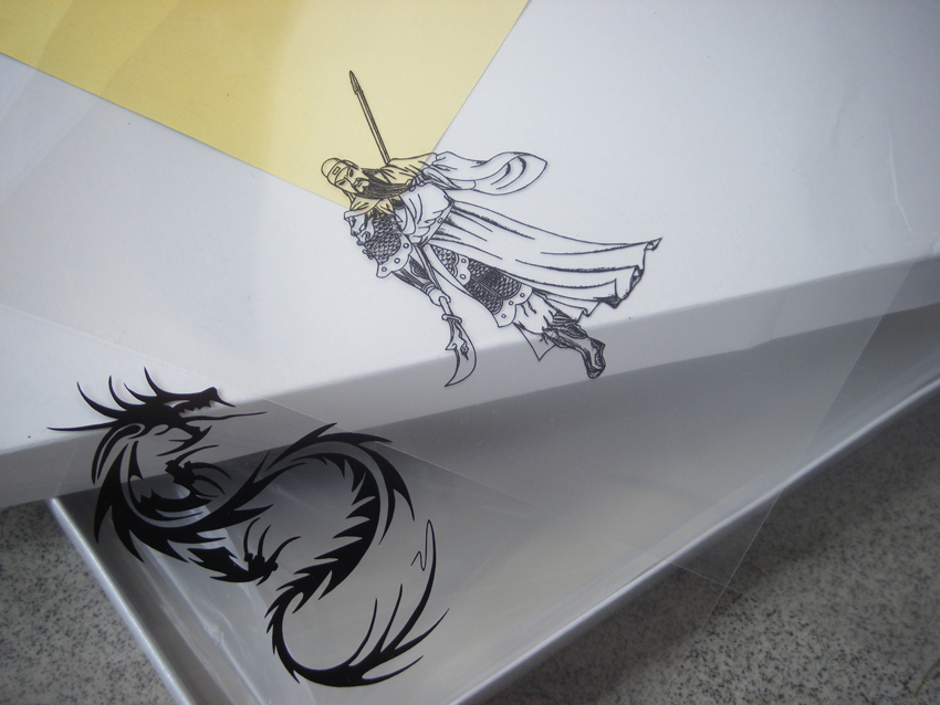 20 sheets A4 Inkjet & Laser Printing Transparency Film For Plate Making Screen Printing Pad Printing