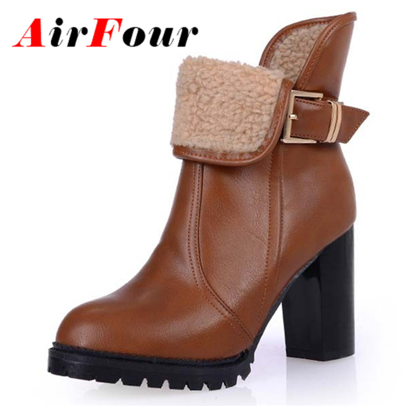 aliexpress buy airfour fashion toe square