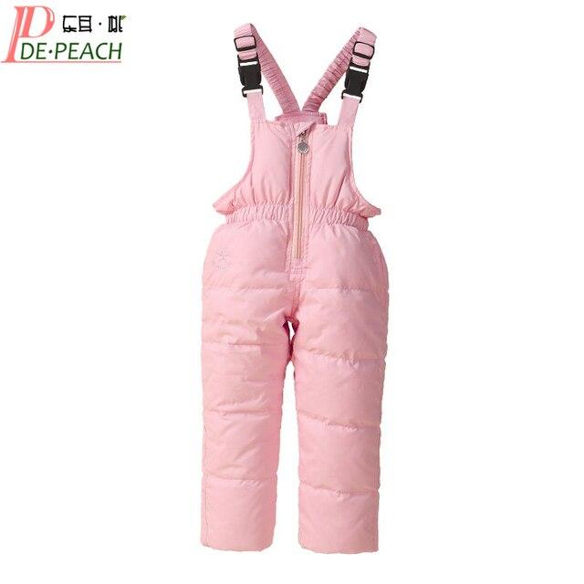 5 цветов детский комбинезон для маленьких мальчиков лыжный костюм для девочек пуховый комбинезон детская одежда для малышей Высокое качество!